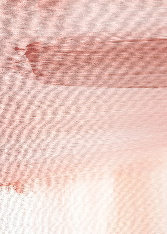 Abstract Painting Pink No1 Poster / Umelecké motívy v Desenio AB (12894)